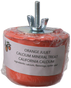 Mineral Block - Medium - Orange Juliet